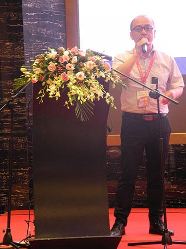 红领集团副总裁李克鹏做专题报告