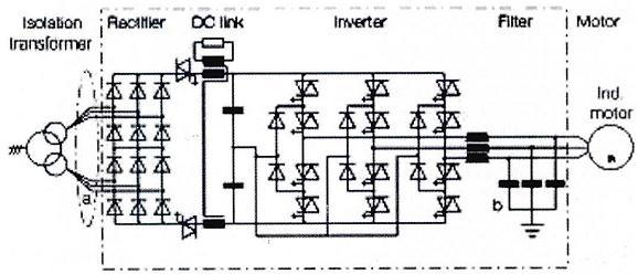 abb510变频器电路图